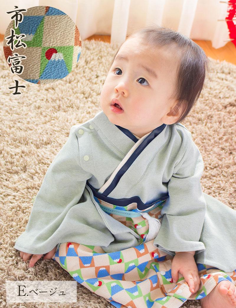 日本製袴ロンパース 大正ロマン風のハットとコーディネート