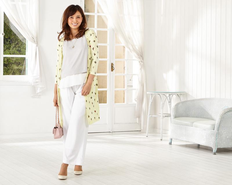 授乳服とマタニティウェアのスウィートマミーがおすすめするセットアップコーデ