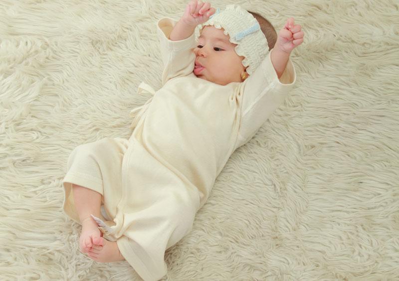繊細な赤ちゃんの肌にも安心