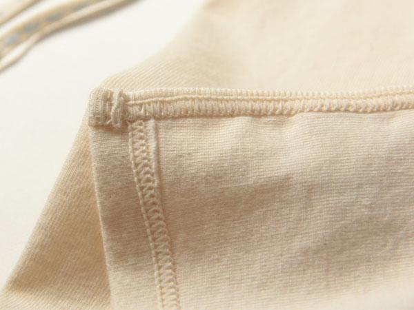 細かい部分までこだわりの詰まった縫製