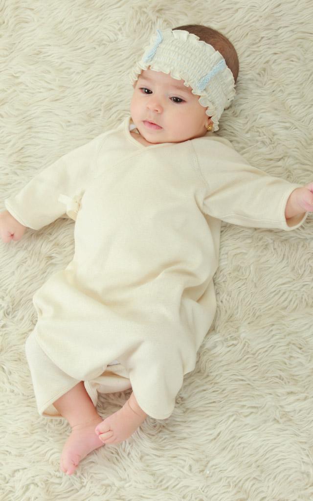 やわらかな着心地で赤ちゃんもご機嫌なベビーウェア