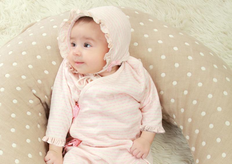 生まれたばかりの赤ちゃんのために。細部までこだわった日本製