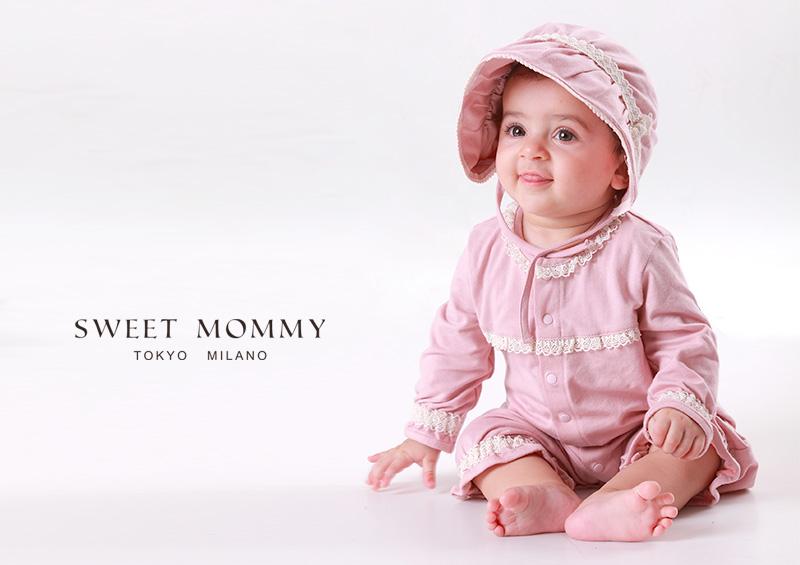 授乳服とマタニティウェアのスウィートマミーがおすすめするベビードレス3点セット