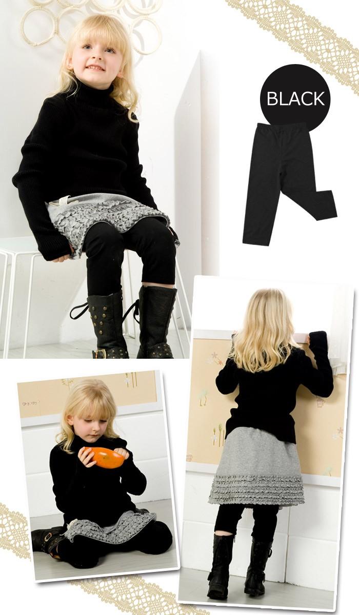 スウィートフェアリーズ シンプルキッズレギンス sf8009 子供服/女の子/キッズ/キッズウェア/キッズ服/ベビー服/スカート
