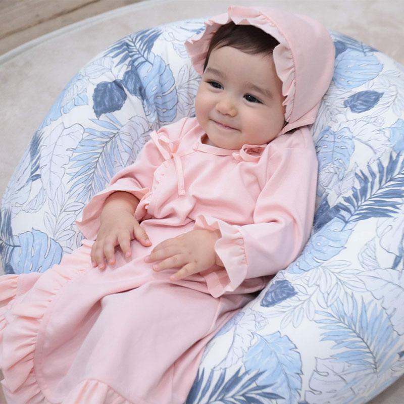 赤ちゃんのお座りサポート
