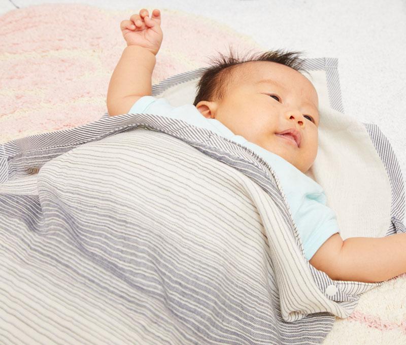 新生児の赤ちゃんの素肌にも優しい