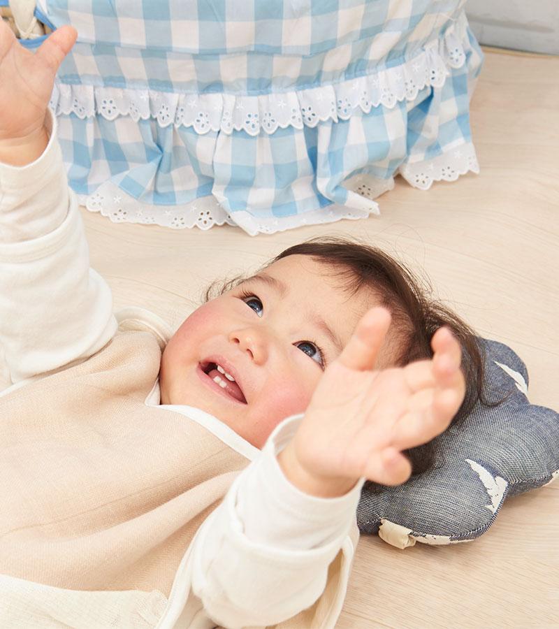 赤ちゃんの頭の形を守る授乳まくら