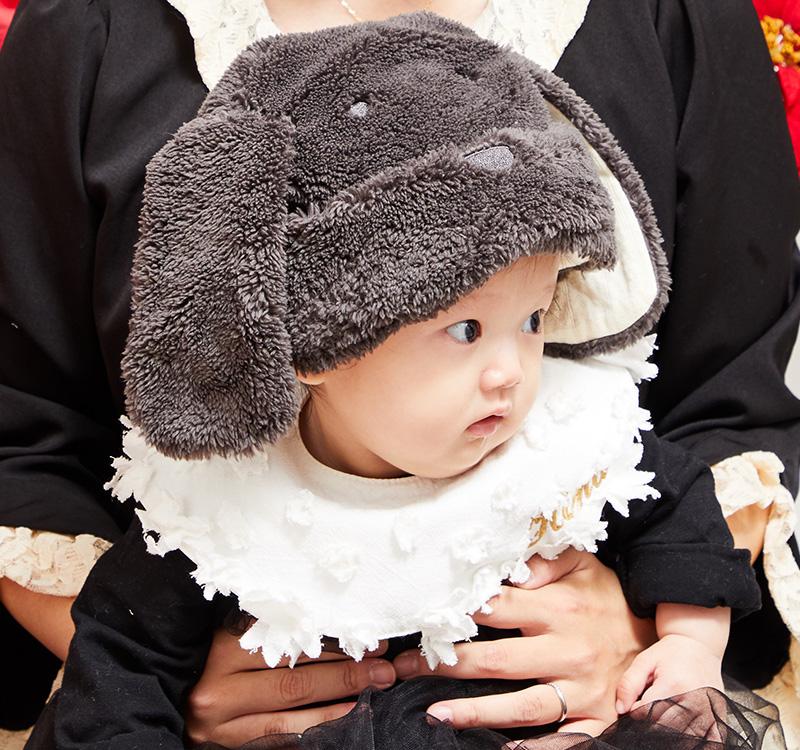 あったか気持ち良いベビー帽子