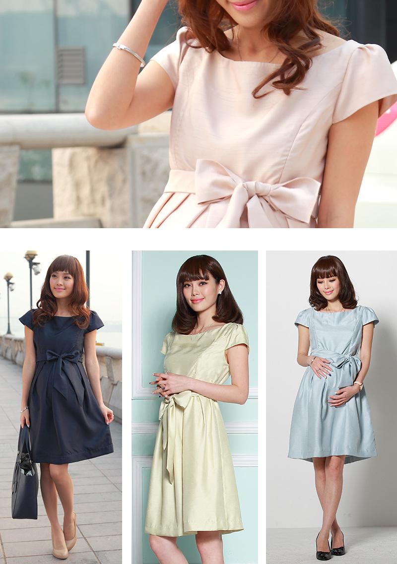 日本製の授乳服フォーマルドレス