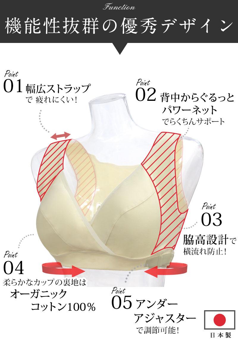 授乳ブラ ポイント
