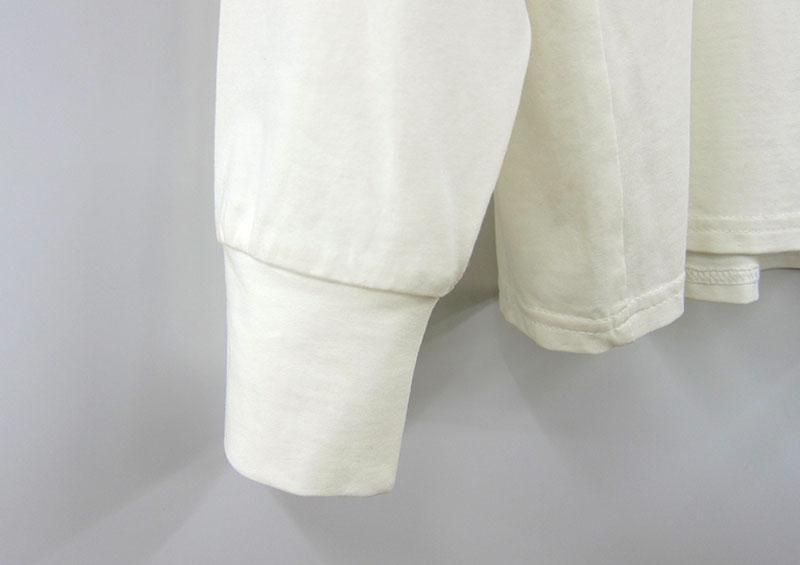 長袖の袖口