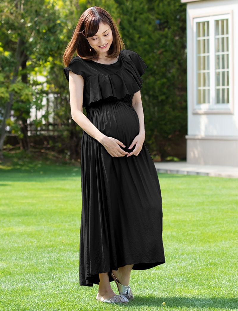 プレママから産後まで着痩せして見え