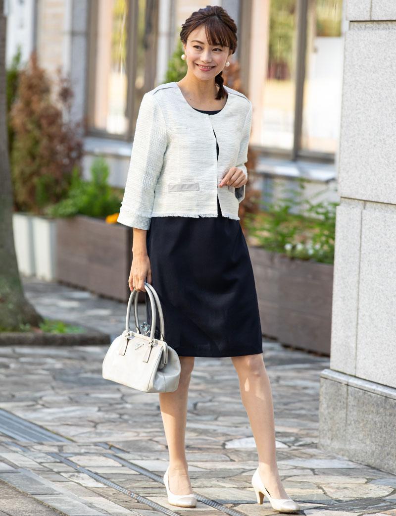 人気読者モデル春名亜美さん着用