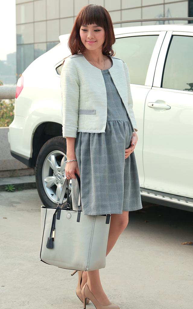 マタニティウェアとしてもおすすめの授乳服フォーマルセット