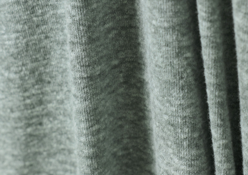 コットン素材の柔らかな杢入り素材
