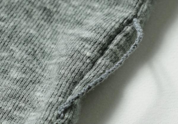 細めの糸ループ