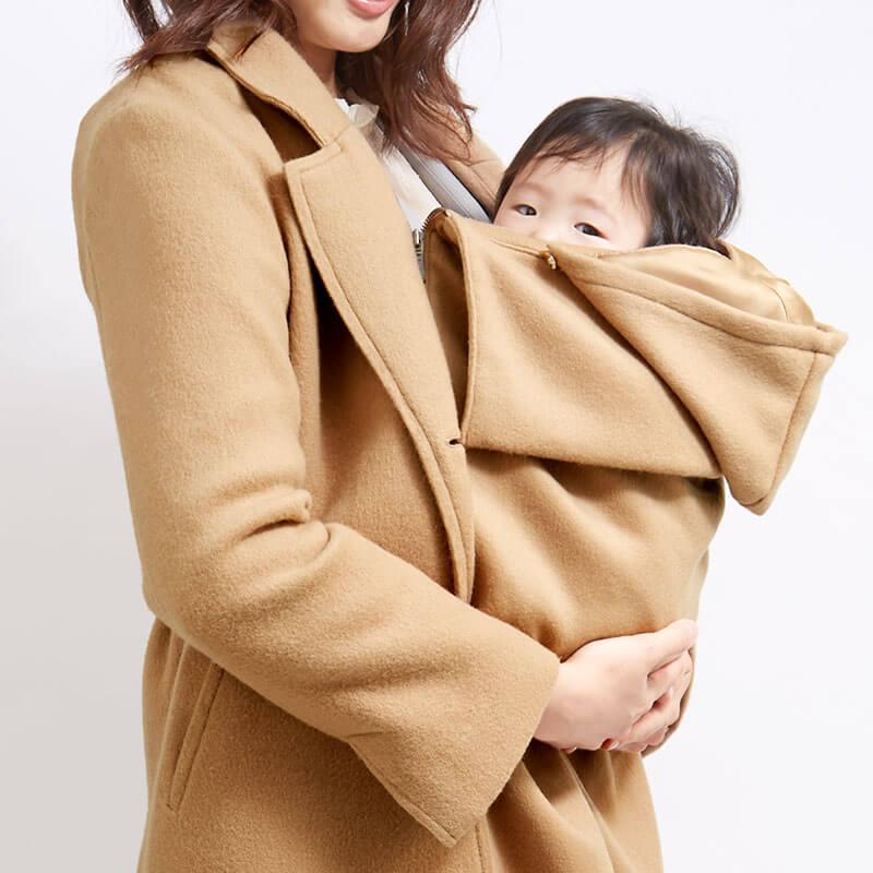 赤ちゃんと一緒に抱っこでおでかけ