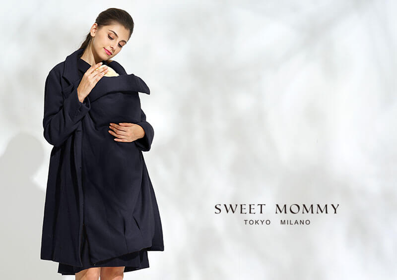 マタニティエウェアと授乳服のスウィートマミーおすすめのママコート