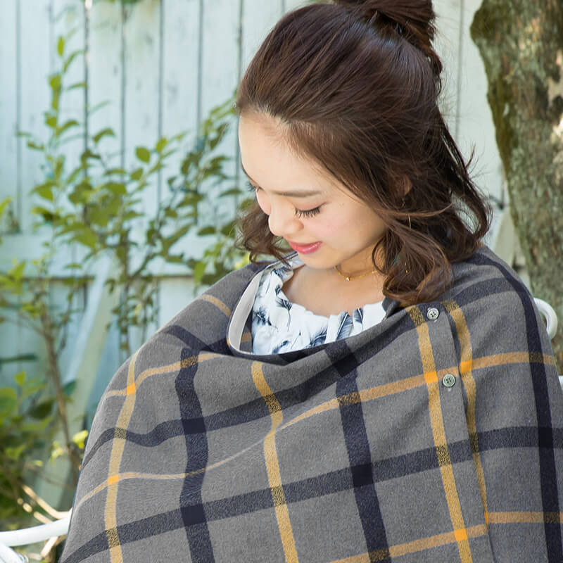 ソフトワイヤーで赤ちゃんの顔をみながら授乳ができる!