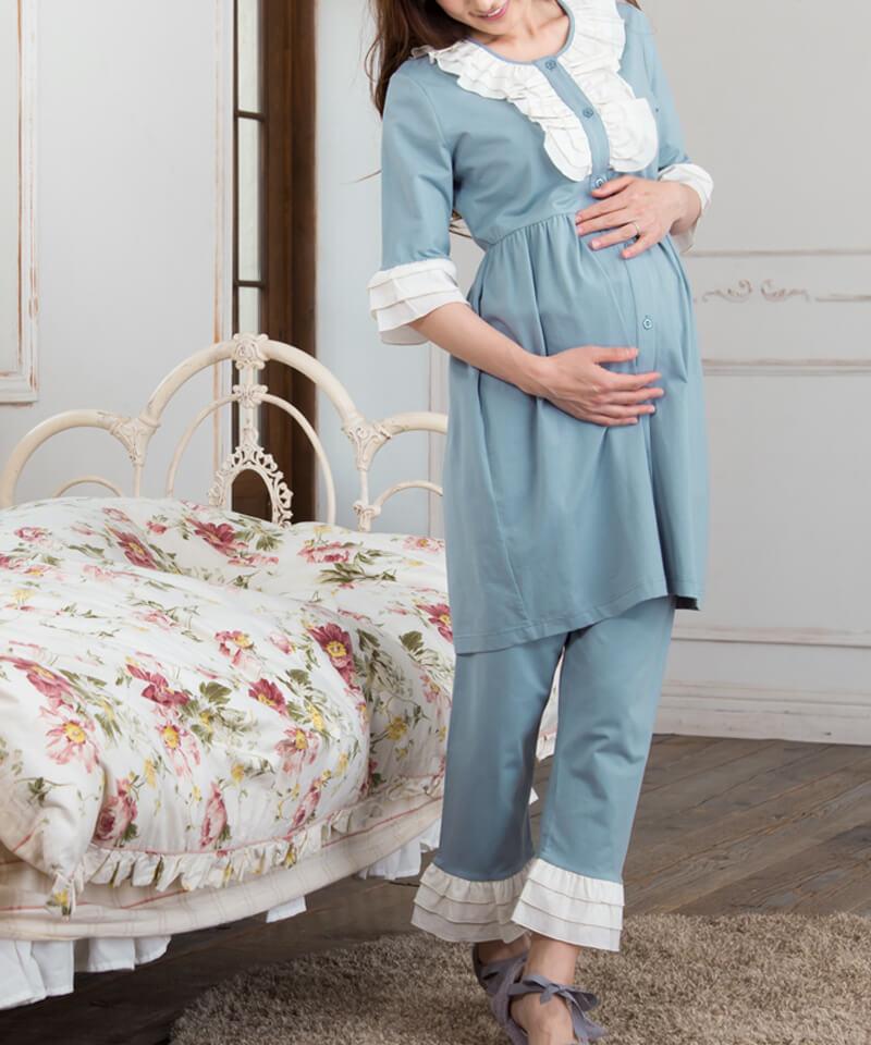 産前産後も着られるナイティ