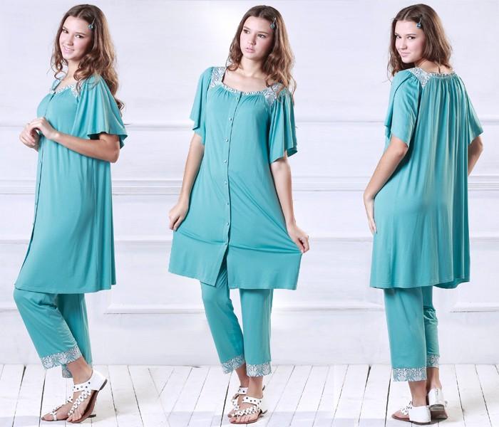 リバティプリント パジャマ  授乳服&マタニティウェア