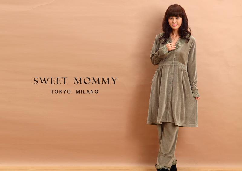 授乳服とマタニティウェアのスウィートマミーがおすすめする産前産後兼用上品ナイティ