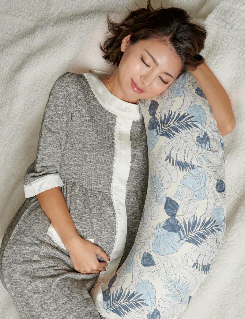 授乳のしやすさを考えた授乳服パジャマです