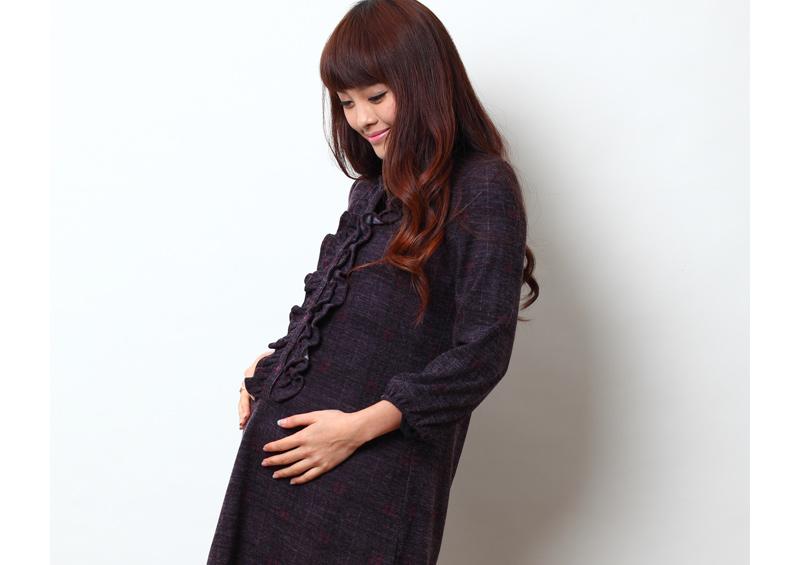 妊婦さんも嬉しい優しくお腹を包む構造