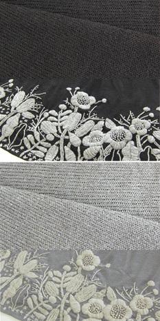 花柄手刺繍のニット 授乳ワンピース 【フワニータ】 授乳/授乳服/マタニティ/ワンピース/マタニティウェア[so1113]