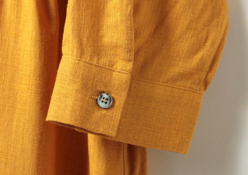 シャツ風の袖