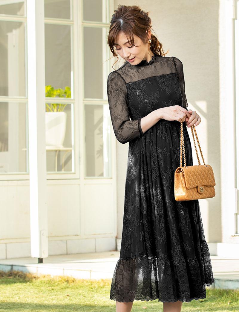 上質で上品なエレガントドレス