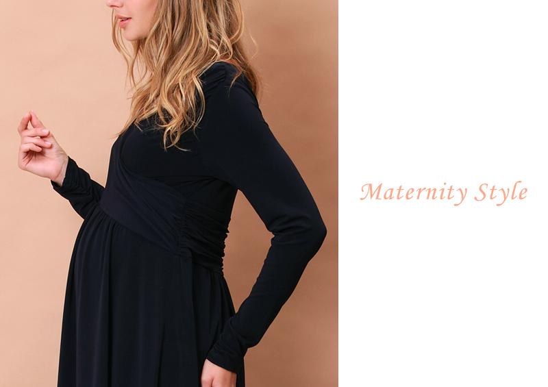 マタニティウェアドレスとしても優秀!