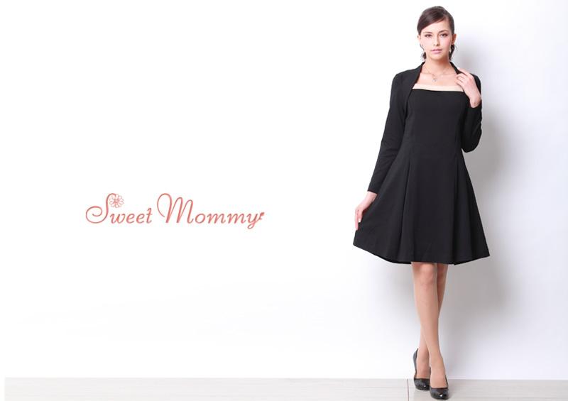 フォーマル授乳服ドレスのイメージ画像