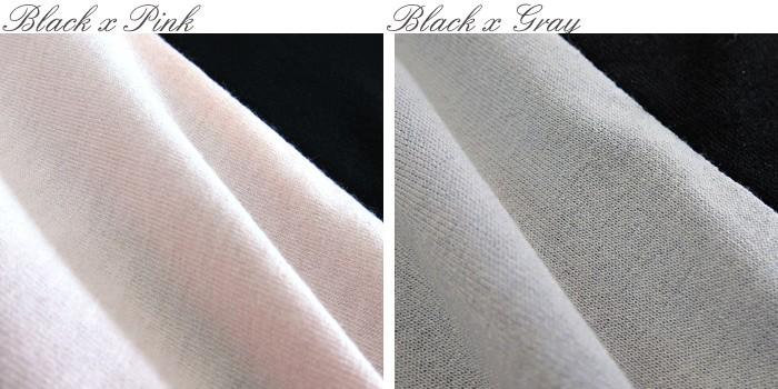 授乳服マタニティ 配色ドルマンスリーブ チュニック 授乳機能付き so2066 マタニティウェア