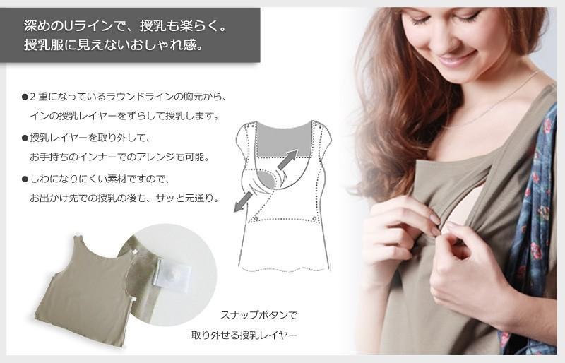 ジュエリードット柄 切り替え 授乳 ワンピース 授乳服 マタニティ 半袖 マタニティウェア
