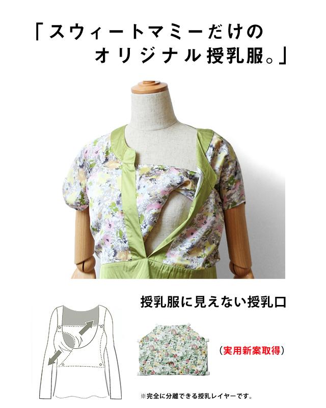 スウィートマミーだけのオリジナル授乳服