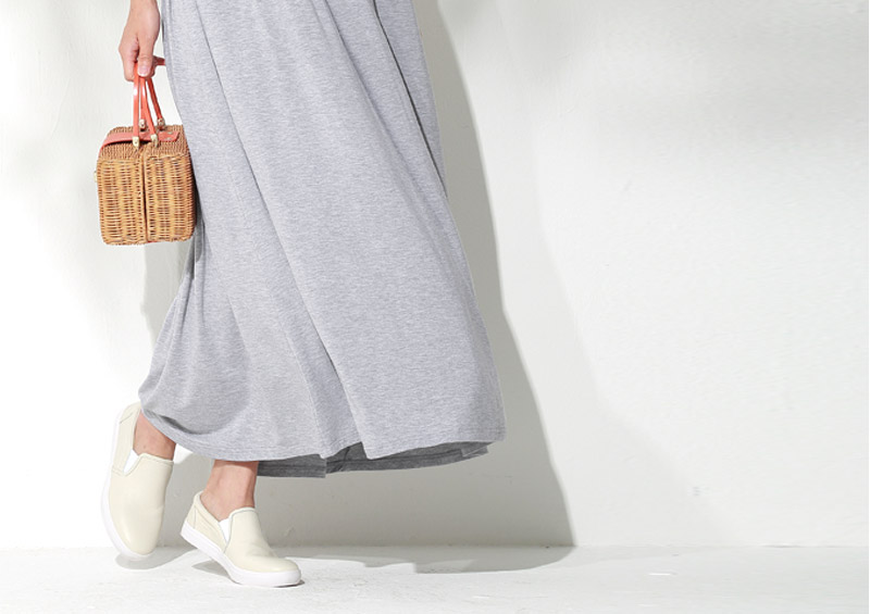 授乳服マキシワンピースのコーラルピンク