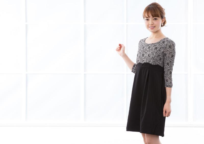 妊娠中から産後まで活躍するドレス