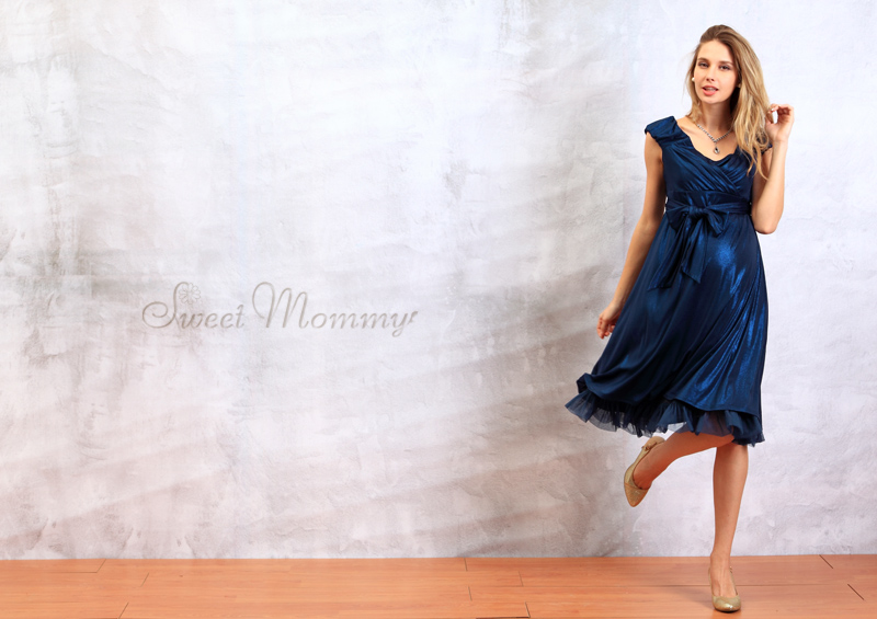 エレガント授乳服ドレスのイメージ画像