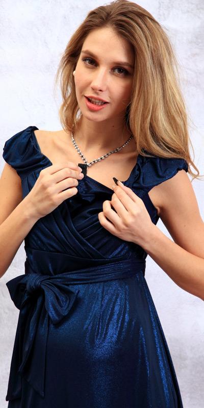 授乳口のモデル着用