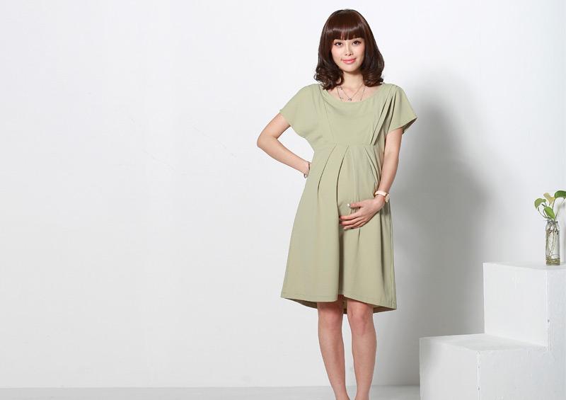 妊婦服としての着用イメージ