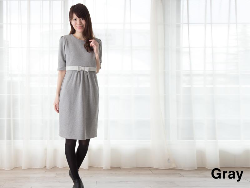 女性らしい可愛いスタイルが叶う授乳服ワンピース