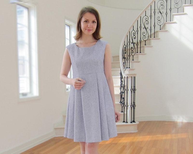 お宮参りや結婚式にもおすすめの授乳服ドレス