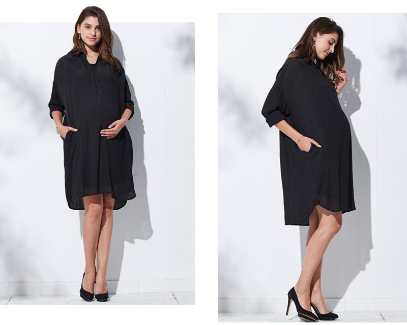 妊娠中のママのことを考えたおしゃれなデザインのマタニティウェア