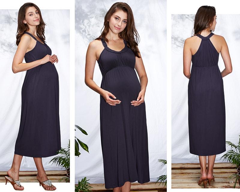 妊娠中から産後まで美しいシルエットでご着用いただけます。