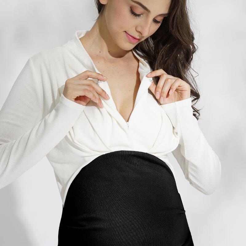 授乳も簡単にできるから、産後もうれしい