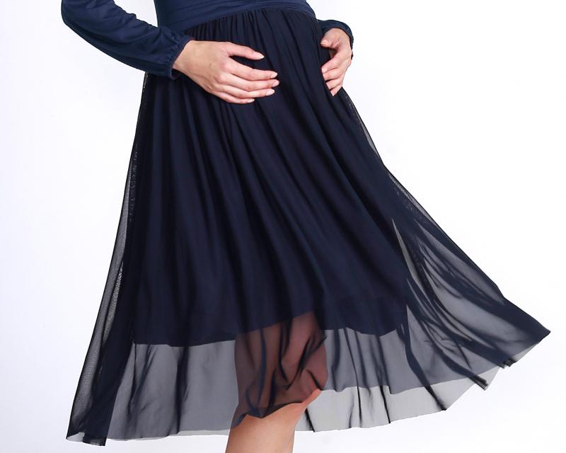 透け感が今どきの授乳服ドレス