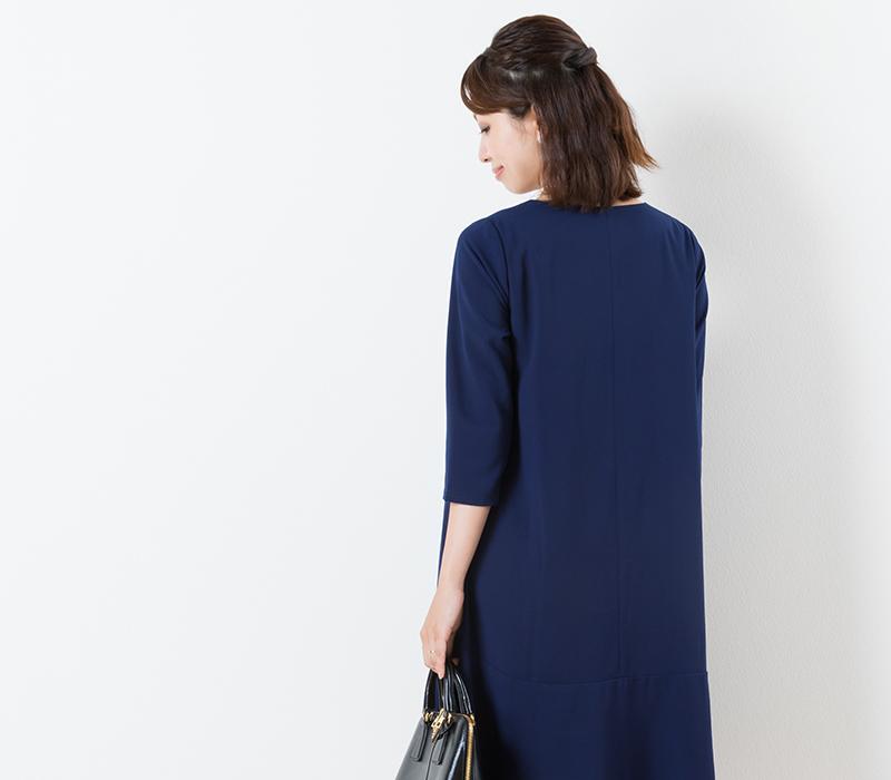 口コミでも評判のドレスが長袖でもっと使いやすく
