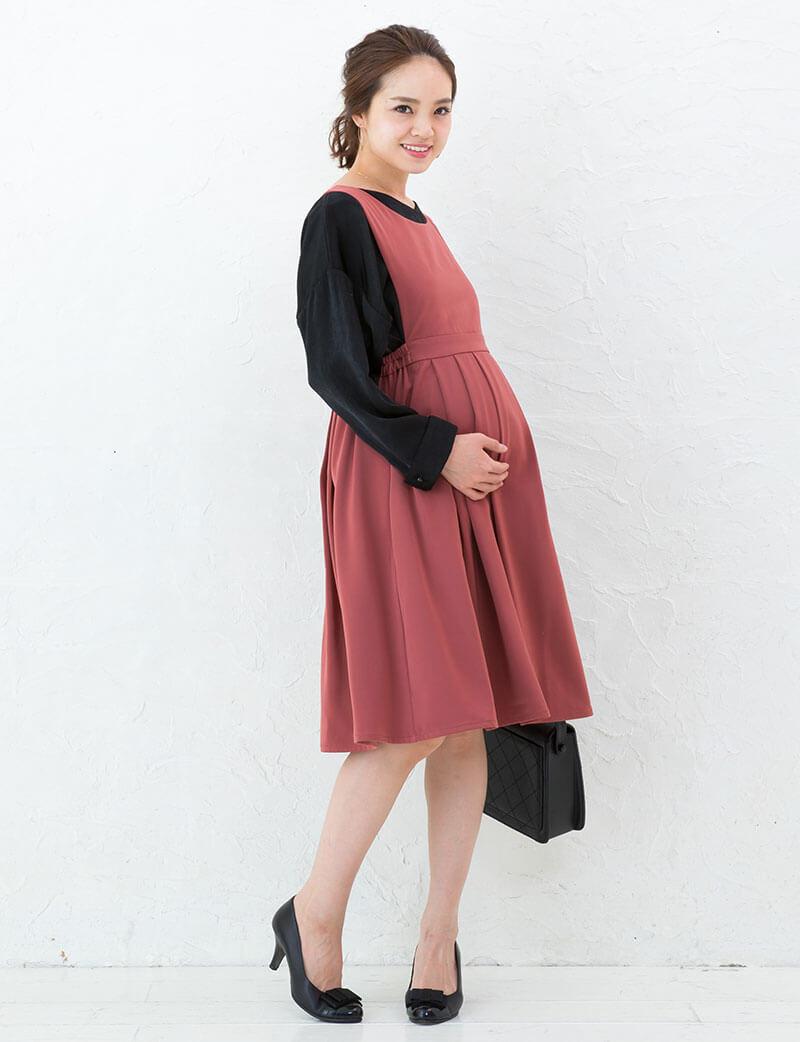 妊娠中もとってもキュートなコーディネート