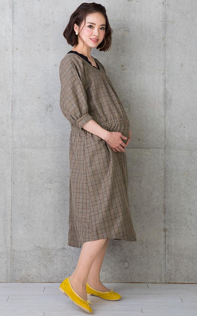 ワンピとしても、羽織りとしても着られて便利
